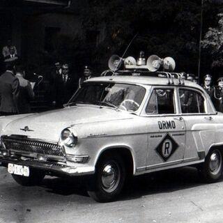 Автомобиль ГАЗ-21 на службе ORMO.