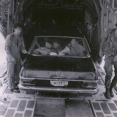 Этот автомобиль сыграл ключевую роль в налёте на Энтеббе.