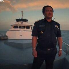 Капитан судна.