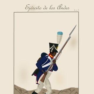 Фузилер 7-го батальона, 1816 - 1818 гг.