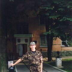 Вход в казарму 6-й роты охраны.