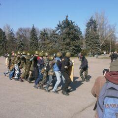Тренировка Одесской дружины, 15 марта 2014 г.