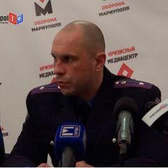 Илья Кива в качестве майора милиции.