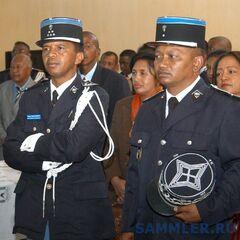 Эмблема жандармерии Мадагаскара.