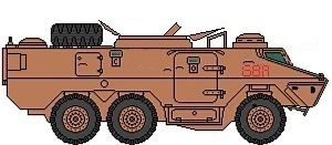 Ratel 81 mortar carrier