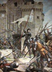 Lenepveu, Jeanne d'Arc au siège d'Orléans