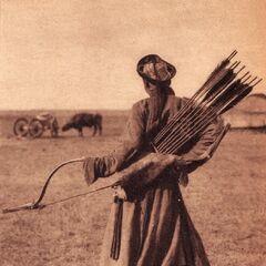 Монгольский лучник.
