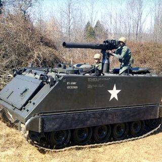 БТР М113 с ПТРК TOW.