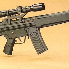 Снайперский вариант винтовки.