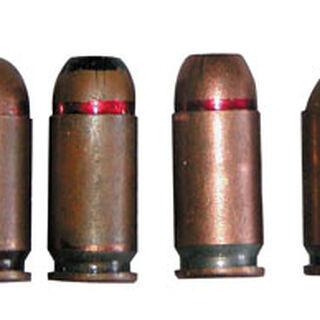 Различные варианты патрона 9х18 мм.