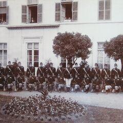 Люксембургский корпус Жандармов и Волонтеров, 1910 год.