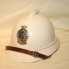Церемониальный шлем жандармерии, 1968 год.