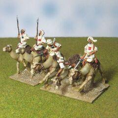 Махдисты на верблюдах.