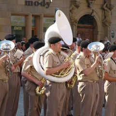 Люксембургский военный оркестр, 2006 год.