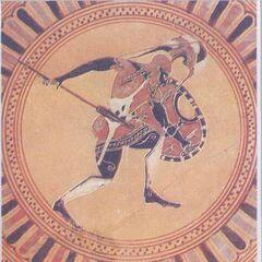 Гоплит VI века до н. э. с <a class=
