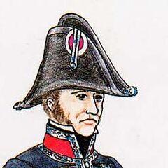 Хирург 2-го линейного полка, 1813 г.