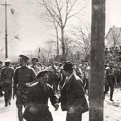 Личный состав 1-й роты 16-го Стрелкового Императора Александра ІІІ полка, 1915 год.