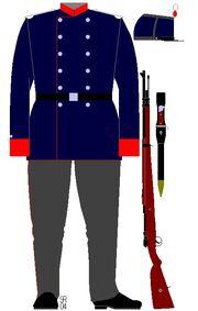 Infantryman, Luxembourg, 1900