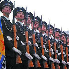 Рота почётного караула ВВС.