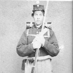 Рядовой Детройтской лёгкой гвардии, 1860 - 1862 гг.