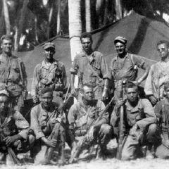 Группа бойцов 6-го батальона рейнджеров.