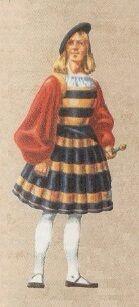 Швейцарскаий гвардеец, 1506 год