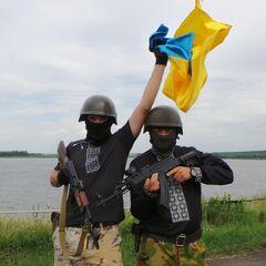 Бойцы батальона в июле 2014 г.