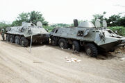 BTR-60 during Operation Urgent Fury