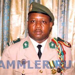 Майор-интендант гвинейской армии. На петлицах изображение акантового листа, характерного для <a class=