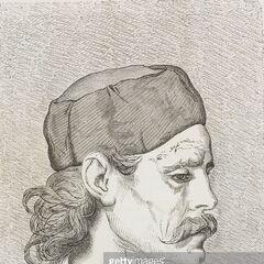 Мужчина из Граховатца, Черногория, 1876 г. Автор гравюры — Теодор Валерио.