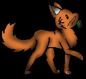 Rennender Kojote&Kräutershading3