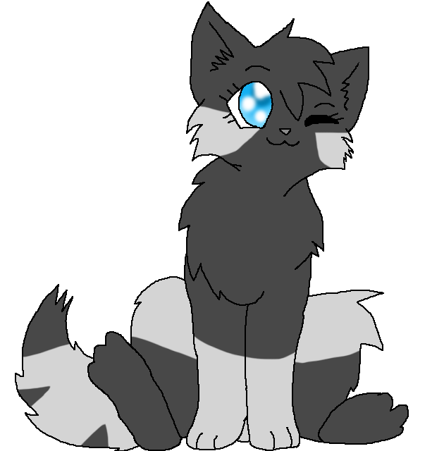 Warrior Cats Kit To Leader Bloodclan: Image - Shinestar.kit.png