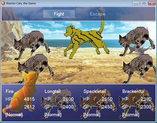 Leopardstar battle