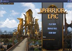 Main menu-interface