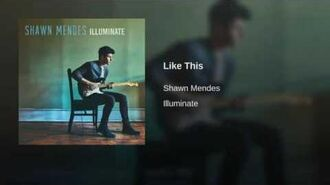 Shawn Mendes - Like This (audio)