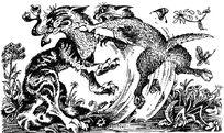 Бой Огонька и Долгохвоста Стань диким
