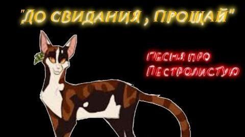 """ До свидания, прощай "" Песня про Пестролистую"