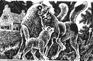 Огнегрив, Принцесса и Белохвост Битва за лес