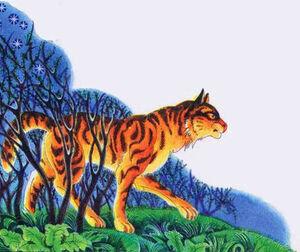 Тигр Секреты племён