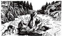 Крутобок и Серебрянка Огонь и лёд