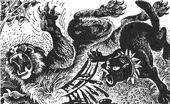 Бич убивает Звездоцапа Битва за лес