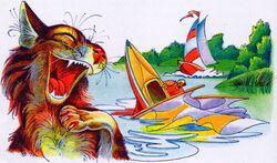 Рыжинка Лодки Сереты Племён