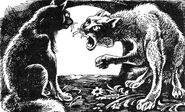 Горелый разговаривает с Синей Звездой Опасная тропа