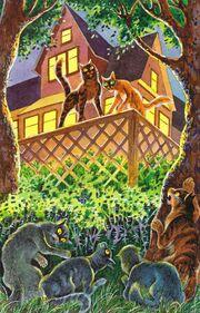Коты племени теней готовят западню домашним Тайна Щербатой золото