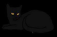 Солнечная Тень кот древнего горного клана