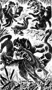Битва с собаками Звёздная тропа