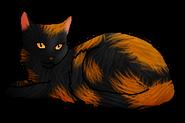 Туманная Река (кошка Клана)