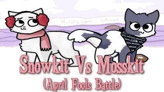 Snowkit VS Mosskit. Epic Rap Battles of Warriors (APRIL FOOLS VIDEO)