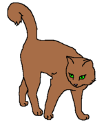 Меднокрылка (воительница)