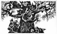 Коты на деревьях Четвёртый оруженосец